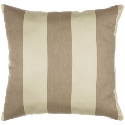 regency sand sunbrella outdoor throw pillow - Sunbrella Pillows