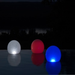 LED Color Changing Floating Pool Pond Orbs