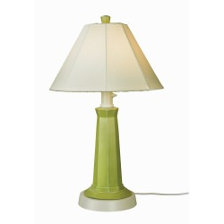 Nantucket Outdoor Table Lamp with Sunbrella Shade