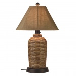 South Pacific Outdoor Table Lamp with Sunbrella Shade