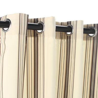 Natural Outdoor Curtains Drapes Dfohome