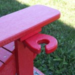 Poly lumber Adirondack Wine Glass Holder