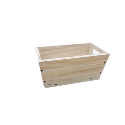 SGC 16 in Rectangle Wood Patio Planter in White