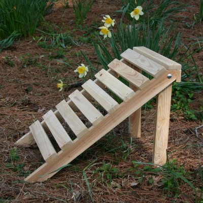 Hometown Exclusive Cypress Rustic Adirondack Footrest