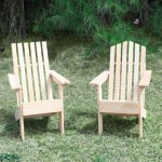 Junior Hometown Exclusive Cypress Rustic Adirondack Chair Mountain Back