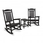 Presidential Rocker 3-Piece Set in Black