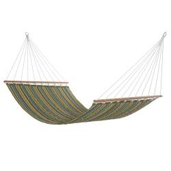Quilted Hammock - Lakeside Stripe