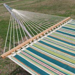 Zinnia Stripe Quilted Hammock by Designed for Outdoors
