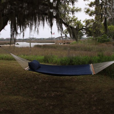 Blue Large Soft Weave Hammock