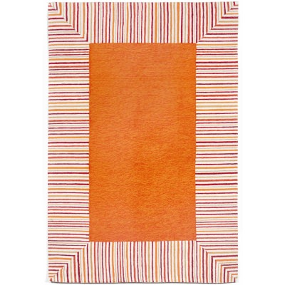 Ravella Pin Stripe  Orange
