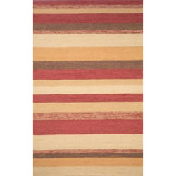 Ravella Stripe Red Outdoor Rug