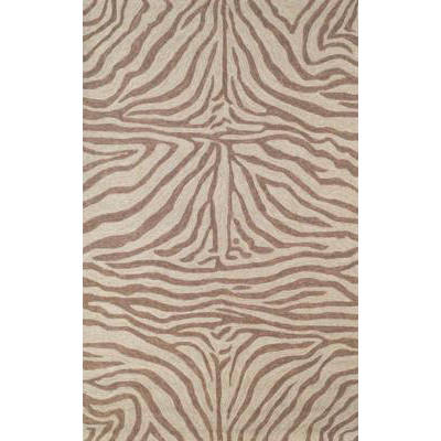 Ravella Zebra Brown Outdoor Rug