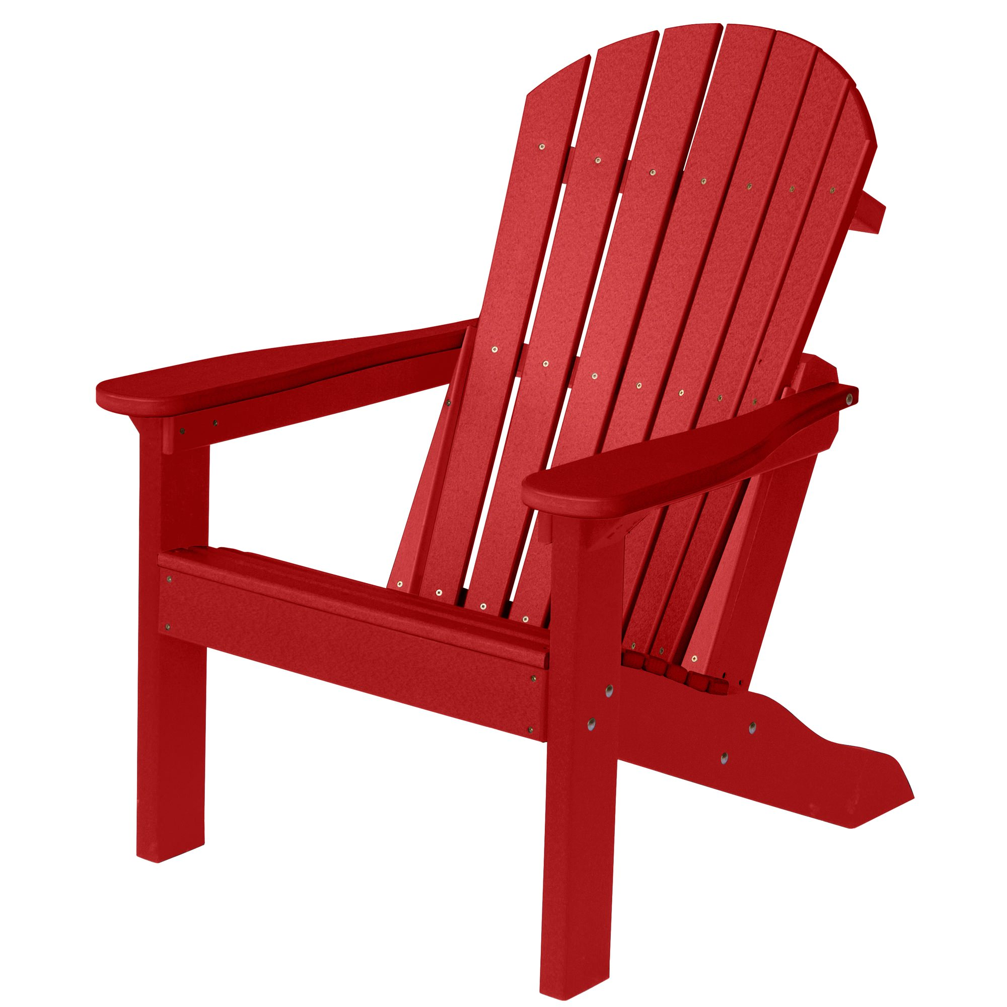 Bon Comfo Back Adirondack Chair   Scarlet Red