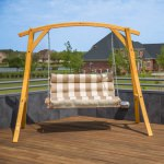 Deluxe Cushion Swing - Regency Sand