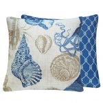 Rock Lobster Blue (18in x 18in)