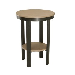 Round End Table - Counter Height
