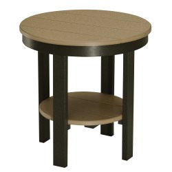 Round End Table - Regular Height