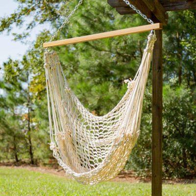 single cotton rope swing hanging hammock chairs   dfohome  rh   dfohome
