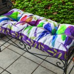 Flocked Together Bench Cushion (42