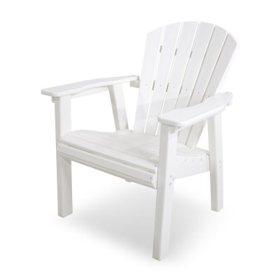 Seashell Casual Chair in White