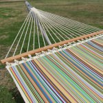 Single Layer Fabric Hammock - Big Sur Stripe