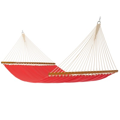 Single Layer Fabric Hammock - Cardinal Red