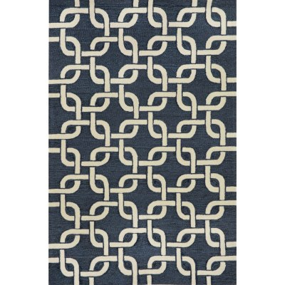 Spello Chains Denim Outdoor Rug