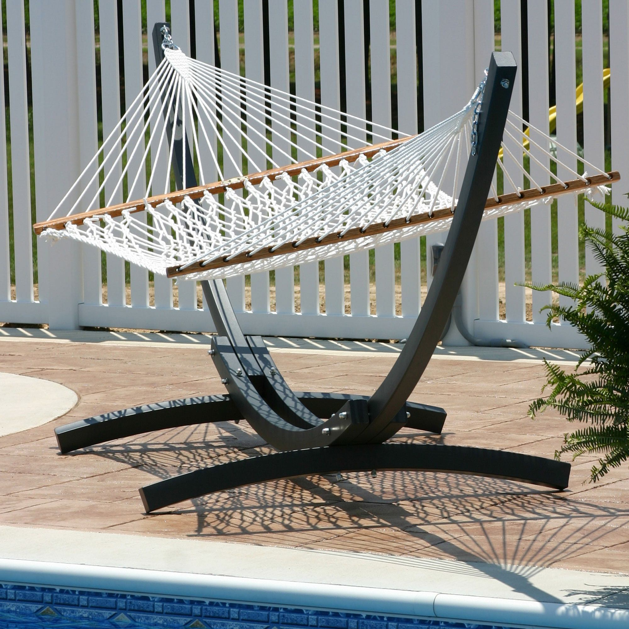 small patio luxury design outdoor avaz striped furniture eclectic with backyard delivered citrus hammocks l hammock