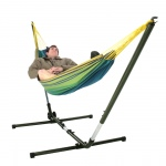 Forest Green Deluxe Brazilian Hammock Stand