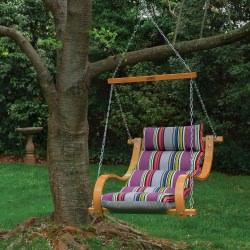 Icon Mystique Stripe Deluxe Cushioned Double Porch Swing