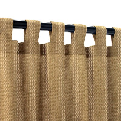 Sunbrella Spectrum Caribou Outdoor Curtain with Tabs