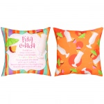 Fun Summer Drinks Pina Colada Outdoor Pillow (20