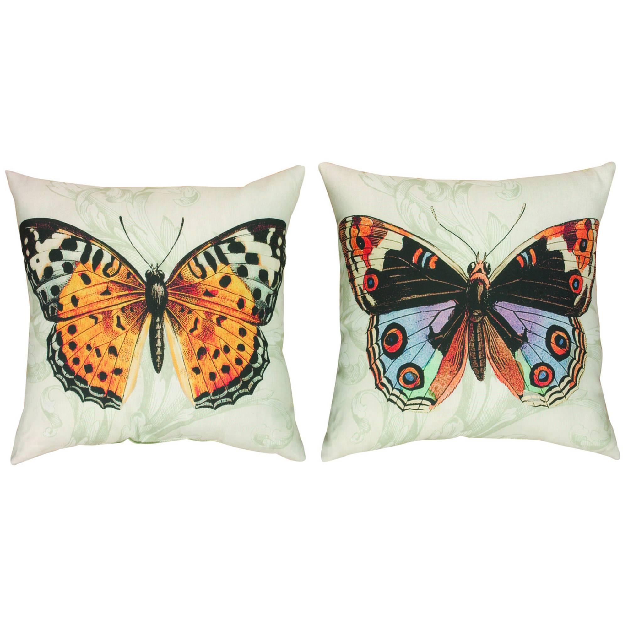Fly Away 1 Outdoor Pillow