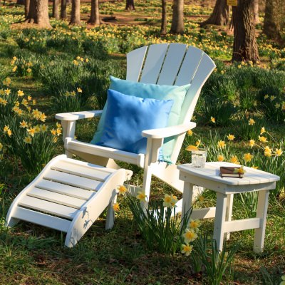 3 Piece Sunrise Adirondack Rocker Set
