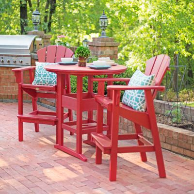 3 Piece Sunrise High Dining Set
