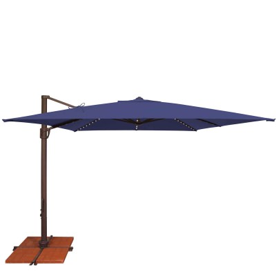 Umbrella Bali Pro 10 Ft. with Starlights in Sky Blue