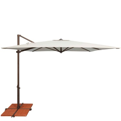 Umbrella Skye 8.6 ft. with Base in Natural
