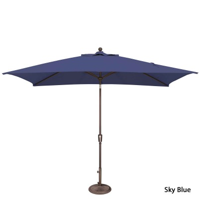 Umbrella Catalina Rectangle Tilt Available in 6 Colors