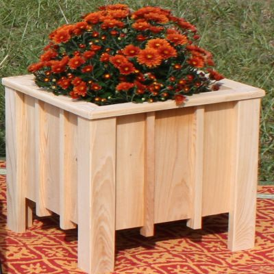 Large Cypress Planter