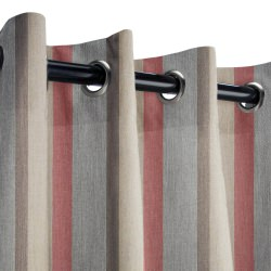 Sunbrella Gateway Blush Outdoor Curtain