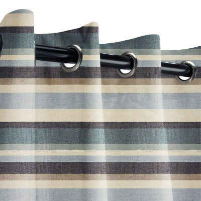 Striped Outdoor Curtains Dfohome