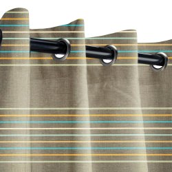 Sunbrella Viento Mercury Outdoor Curtain