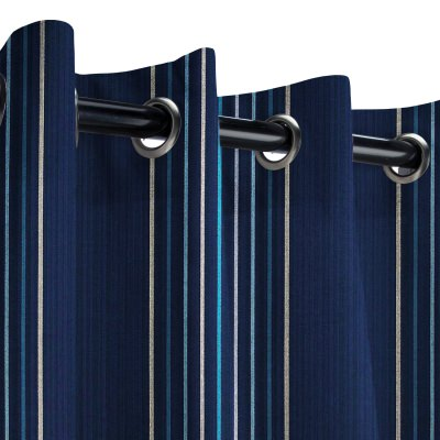 Sunbrella Viento Nautical Outdoor Curtain