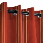 Sunbrella Viento Paprika Outdoor Curtain