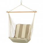 Cushioned Single Swing - Regency Sand