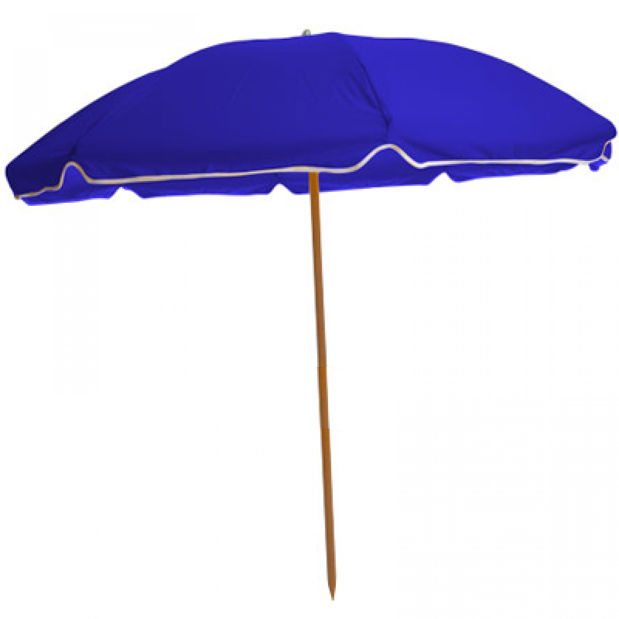 Image of: Beach Umbrella Intended Sunbrella Beach Umbrella Pacific Blue Dfohome