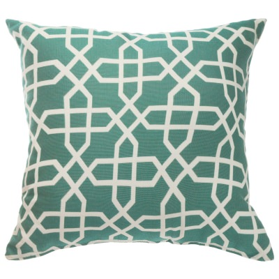 sunbrella throw pillow bevel lagoon - Sunbrella Pillows