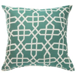 Sunbrella Throw Pillow Bevel Lagoon
