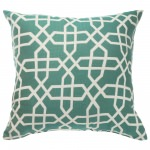 Square Hammock Pillow - Bevel Lagoon