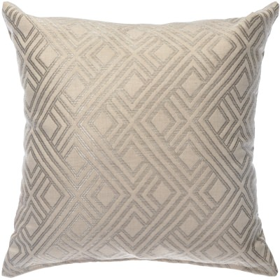 square hammock pillow integrated pewter - Sunbrella Pillows